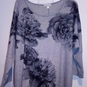 Lightweight Rose Pattern Sweater